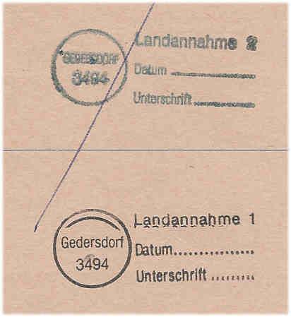 Landannahmestempel Stempe11