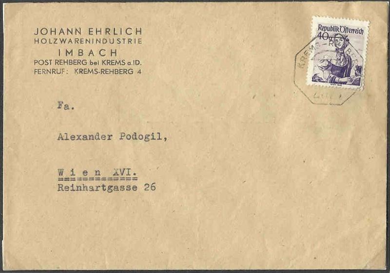 Bezirks-Stempel Tracht10