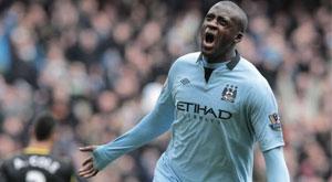 Sport-Football : Yaya Touré seul joueur africain en lice pour le Ballon d'Or  Yaya_t10
