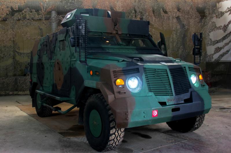 تونس تصنع اول ناقلة جند مصفحة بارب  MRAP BARB بكفاآت تونسية 100% Barb14