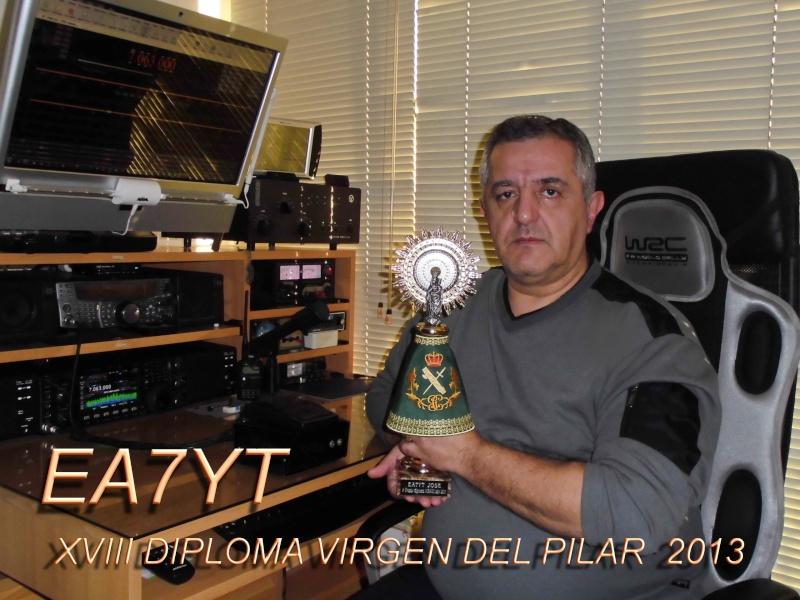 1º premio máxima puntuación a EA7YT- José RAMOS Diploma ACRAGC 2013 Ea7yt-10