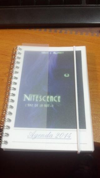 ROMALEY Maria J. - L'AME DE LA NUIT - Tome 1 - Nitescence - Page 2 Agenda11