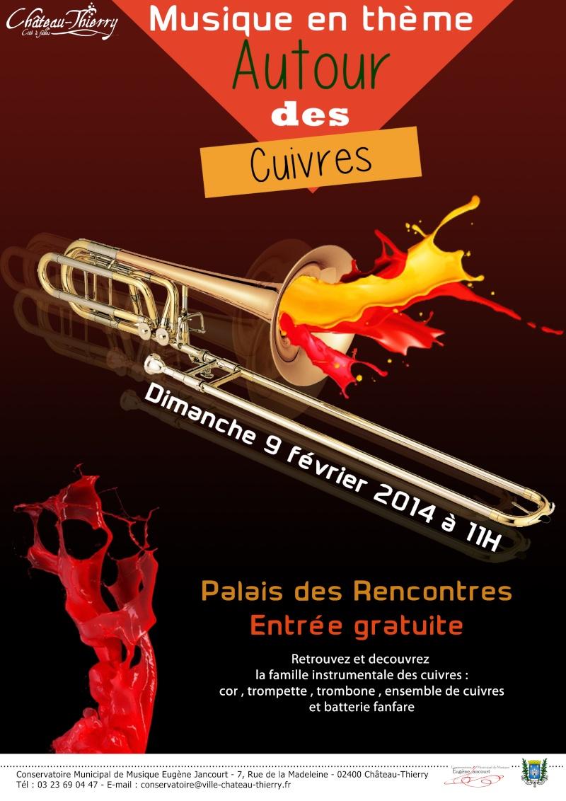 La Batterie Fanfare de Chateau Thierry en concert ! Affich12