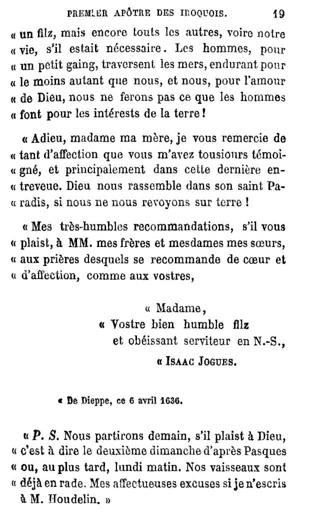 Le P. Isaac Jogues, premier Apôtre des Iroquois. Jogues12