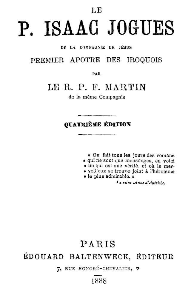Le P. Isaac Jogues, premier Apôtre des Iroquois. Le_par10