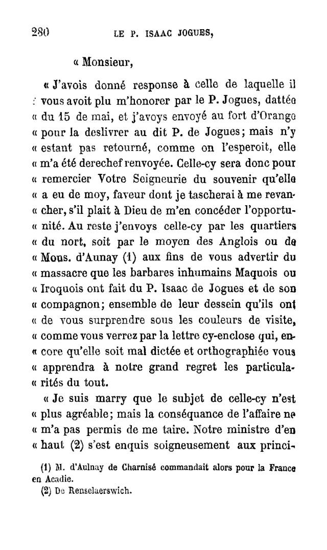 Le P. Isaac Jogues, premier Apôtre des Iroquois. - Page 6 Page_211