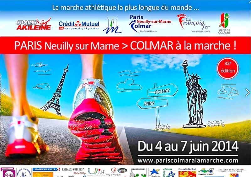 Paris -Colmar 2014   Affich10