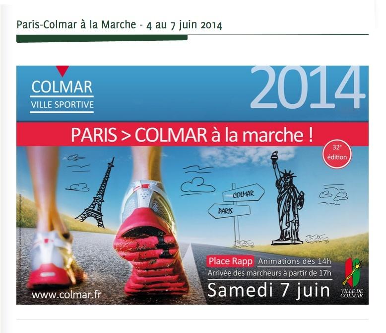 Paris -Colmar 2014   Affihe10