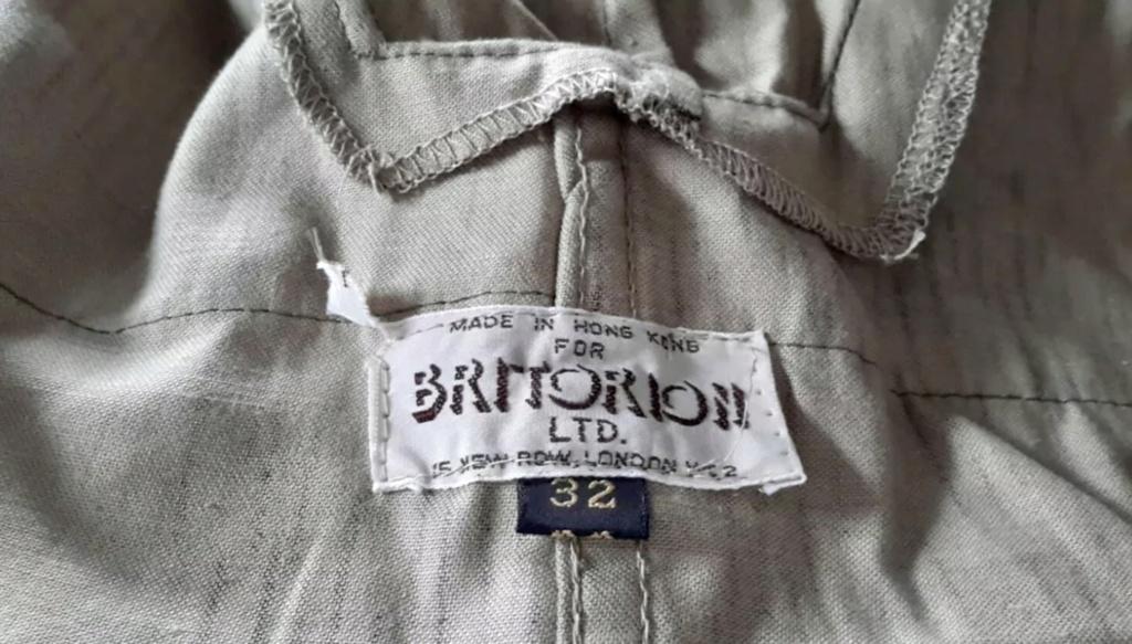 1942 cut Tan & Water German camo Hong Kong made British surplus store  Daea9710