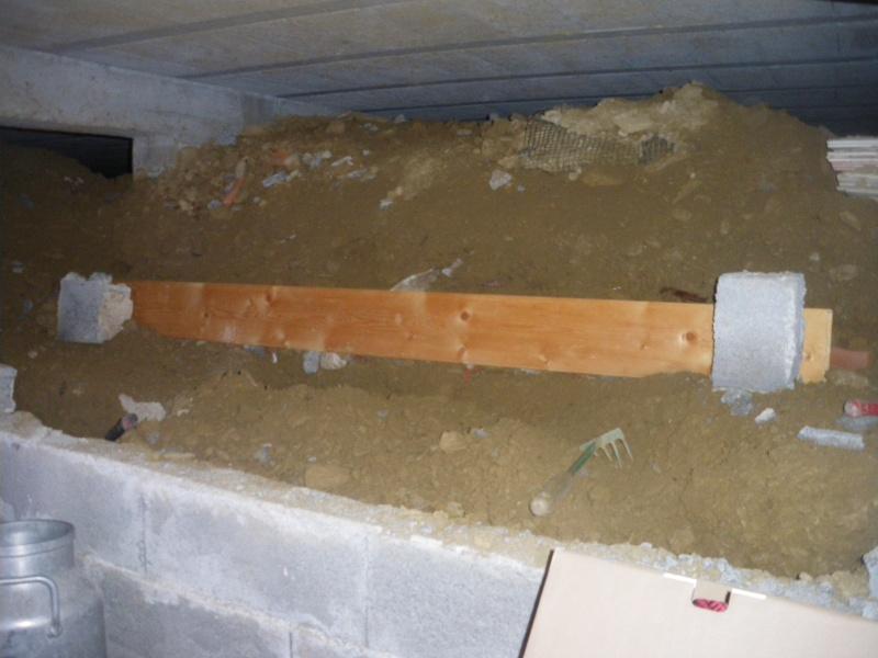 réaménagement de mon vide sanitaire Imgp2517