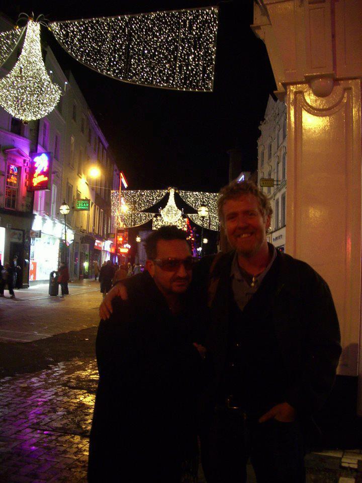 Bono in Grafton Street Ange1010