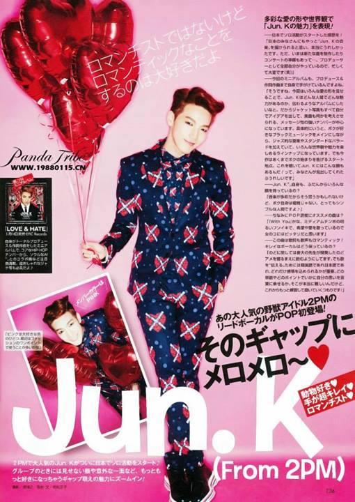 [05.05.14] [PICS] Jun.K pour le magazine Popteen 193