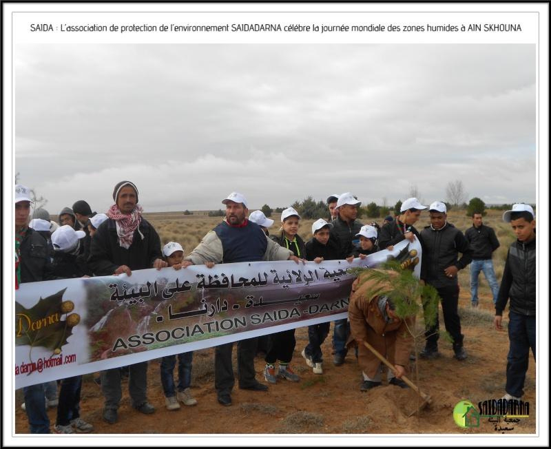 Célébration de la journée mondiale des zones humides Ain Skhouna Dscn0015