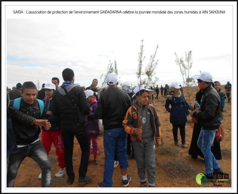 Célébration de la journée mondiale des zones humides Ain Skhouna Dscn0016