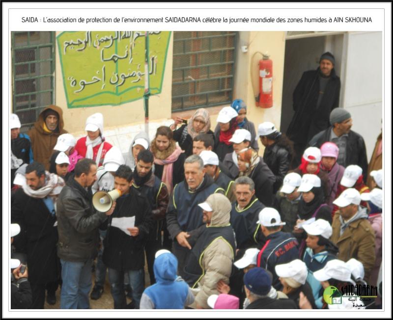 Célébration de la journée mondiale des zones humides Ain Skhouna Dscn0018