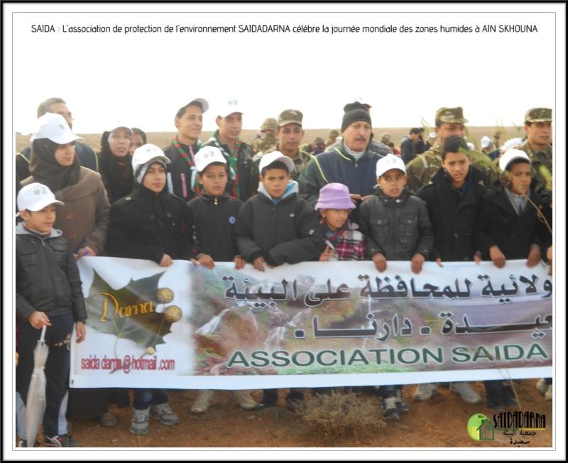 Célébration de la journée mondiale des zones humides Ain Skhouna Dscn0019