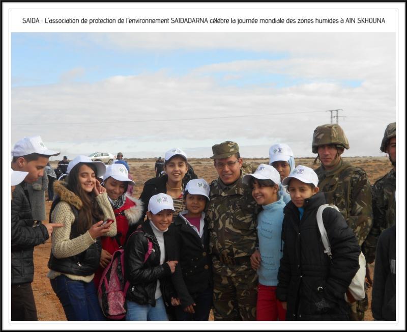 Célébration de la journée mondiale des zones humides Ain Skhouna Dscn0023