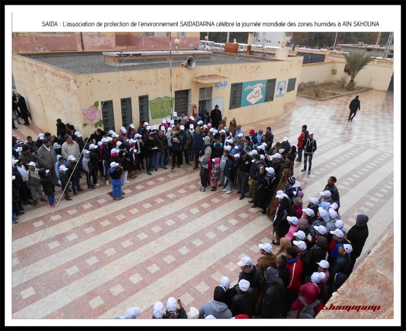 Célébration de la journée mondiale des zones humides Ain Skhouna Dscn0210