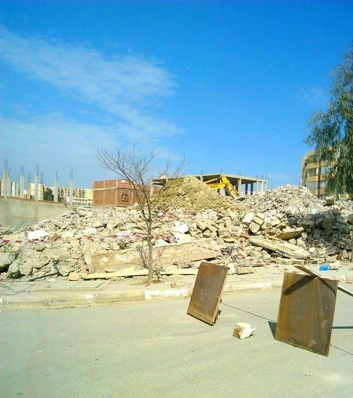 تهديم مسجد الرياض  Mosque10