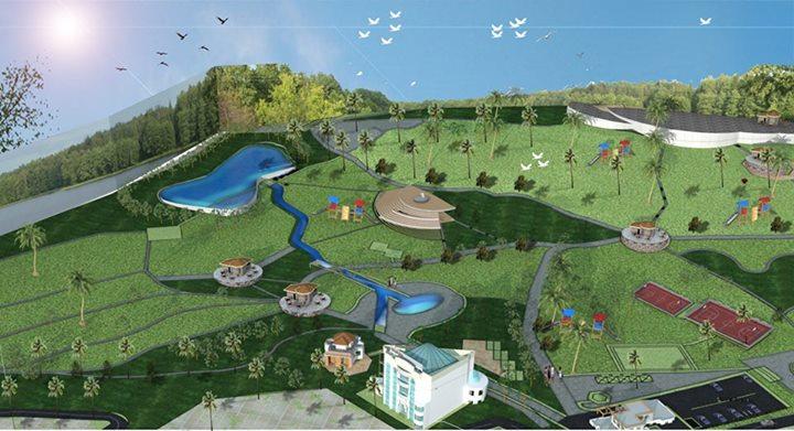 Le parc citadin d'El Bordj SAIDA Parc11