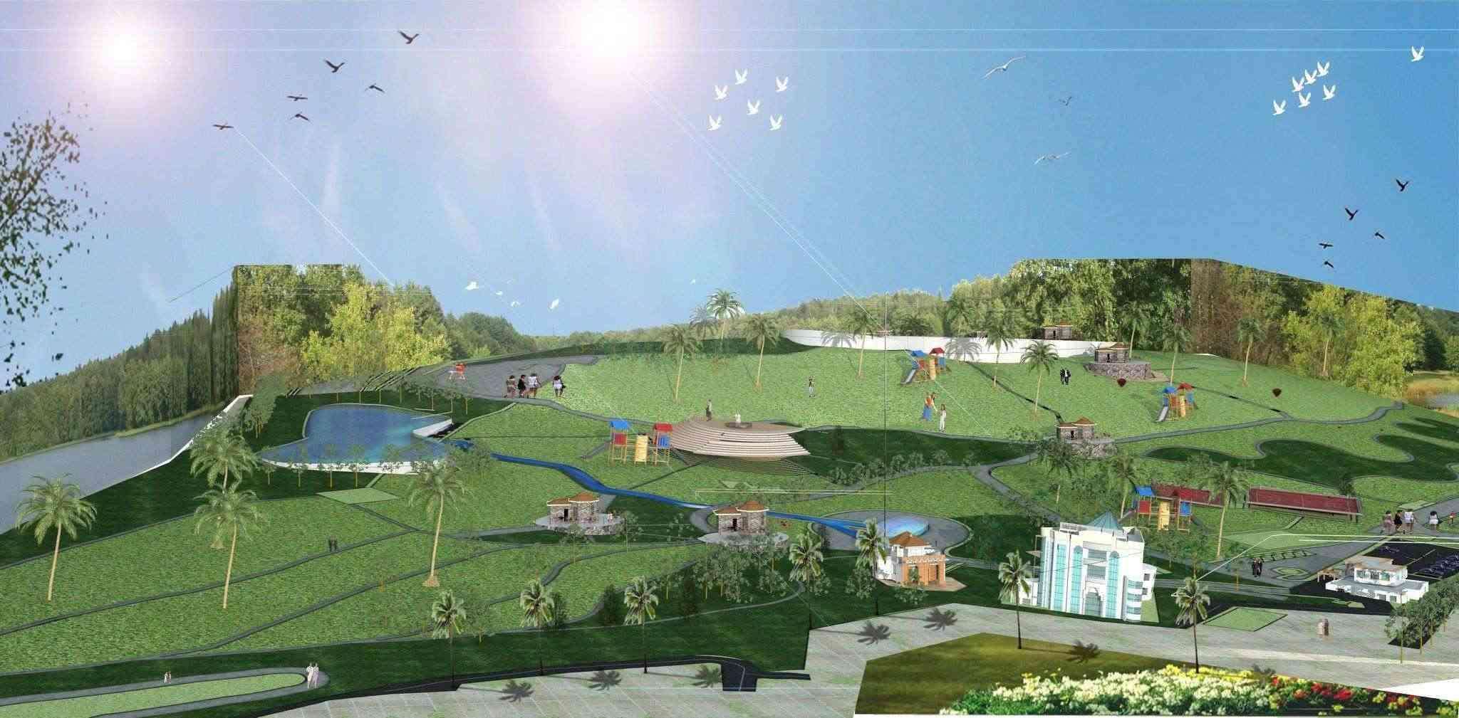 Le parc citadin d'El Bordj SAIDA Plan_n11