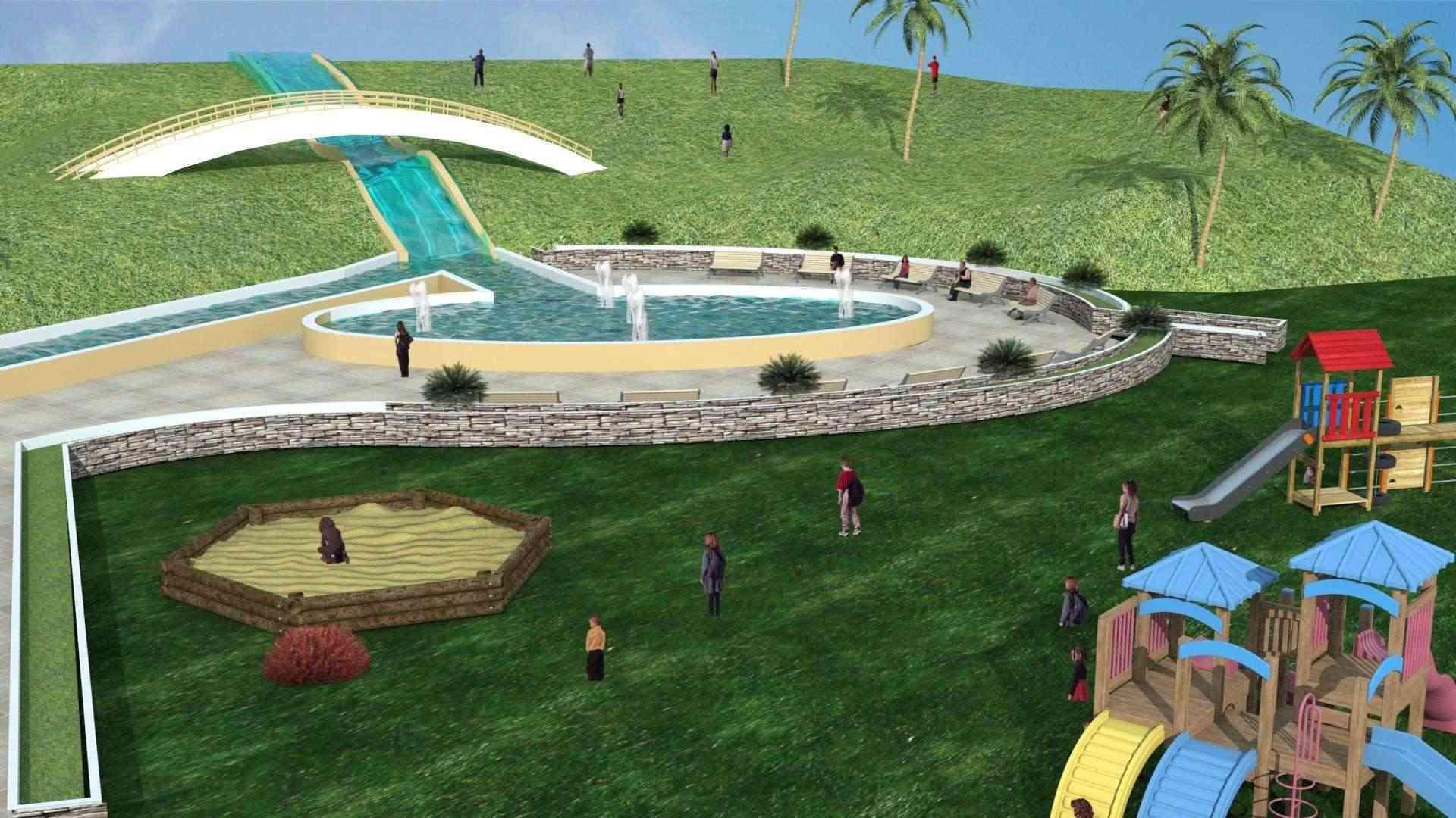 Le parc citadin d'El Bordj SAIDA Plan_n12