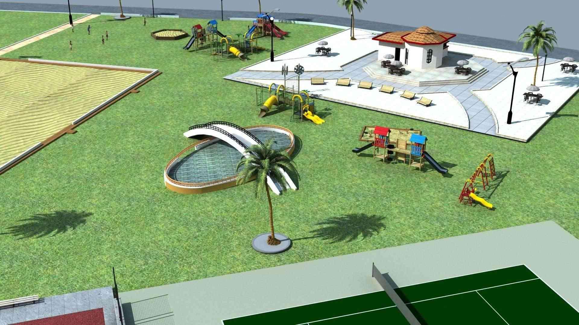 Le parc citadin d'El Bordj SAIDA Plan_n13