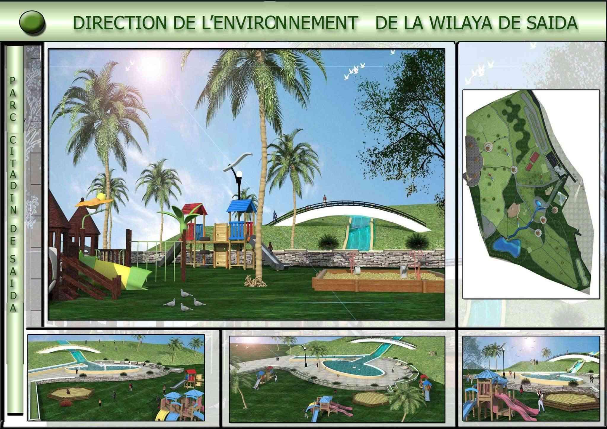 Le parc citadin d'El Bordj SAIDA Tt10
