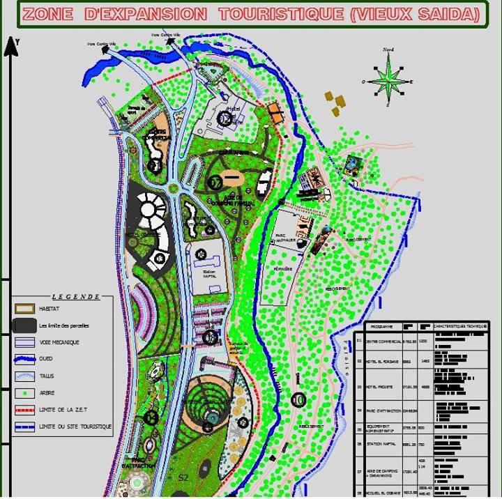 Zone d'expansion touristique Vieux SAIDA Zone10