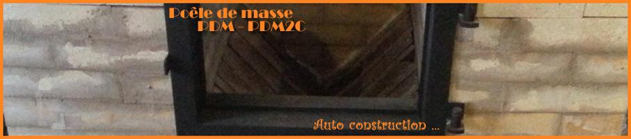 Poêle de masse - PDM2C
