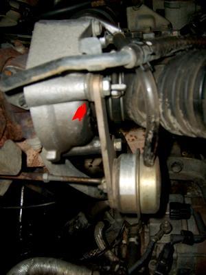 Turbo qui s'allume dans le rouge. S5009010