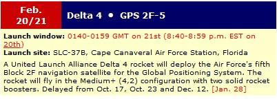 Lancement Delta-4 • GPS-2F5 - 21 février 2014 Sans_t56