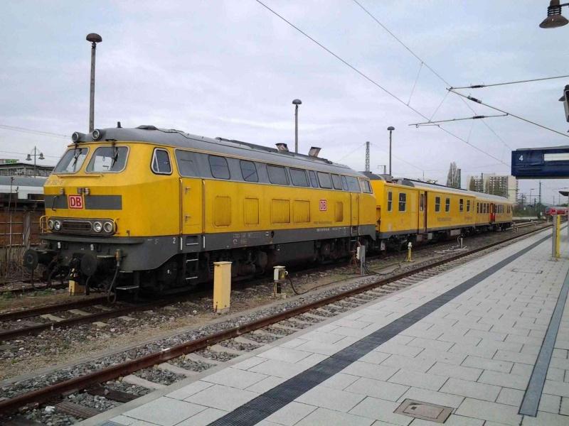 DB Netzinstandhaltung - der Messzug? 20130511