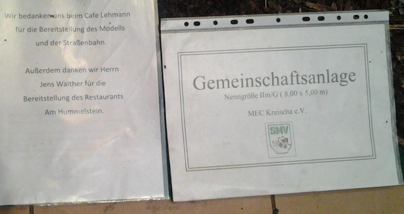 Einige Bilder Ausstellung MEC Kreischa - 2013 20131223