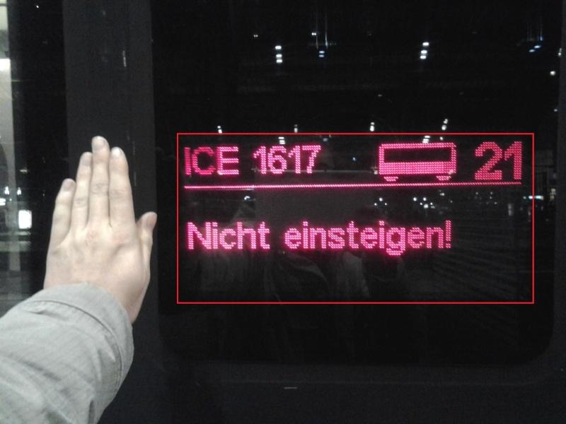 Der ICE der MOB  Ice10