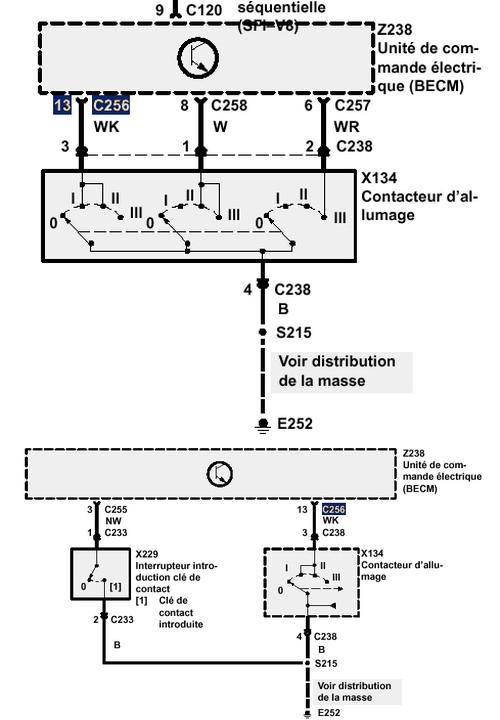 probleme d alimentation de consol central Comman10