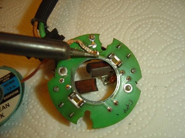 Compresseur EAS: Échange d'une Protection Thermique Défectueuse Compre17
