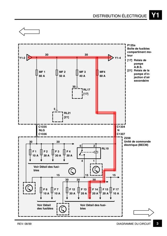 Relais RL10 sur DSE 99 F14310