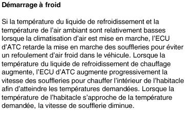 temperature ext reste a 0 degre Hvac110