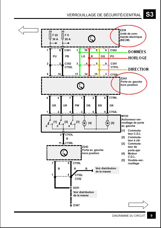 Schema electrique porte conducteur - Page 3 Porte_11
