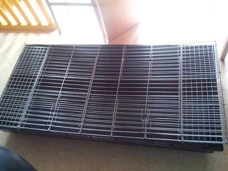 A vendre 2 cages à lapin 1.40m de long - 51 Img_2015
