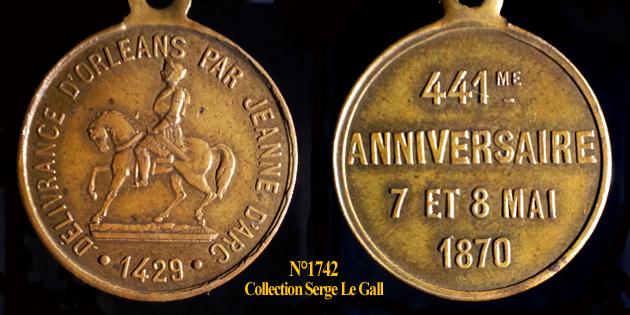 Médailles Jeanne d'Arc ... 174210