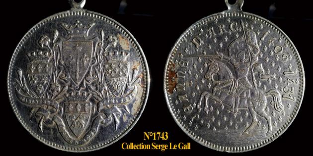 Médailles Jeanne d'Arc ... 174310