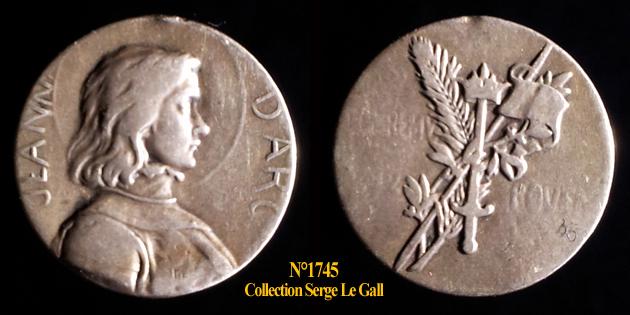 Médailles Jeanne d'Arc ... 174511