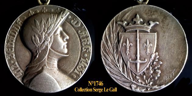 Médailles Jeanne d'Arc ... 174611