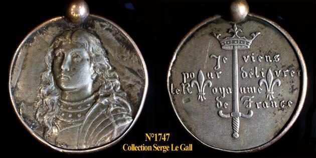 Médailles Jeanne d'Arc ... 174711