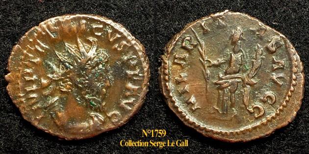 Demande de confirmation pour Antoninien de Tetricus 1759bi10