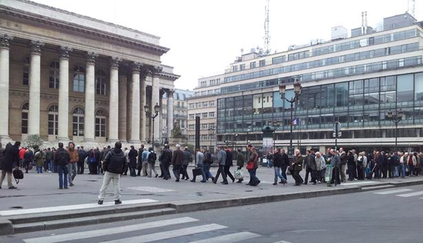Bourse de Paris - Palais Brongniart - samedi 15 mars 2014 Brongn10