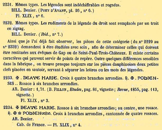 Le Puy ? - denier Denier14