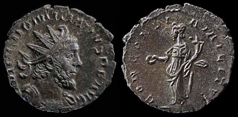 Antoninien de Claude II le gothique ... ???? ou autre. Domit110